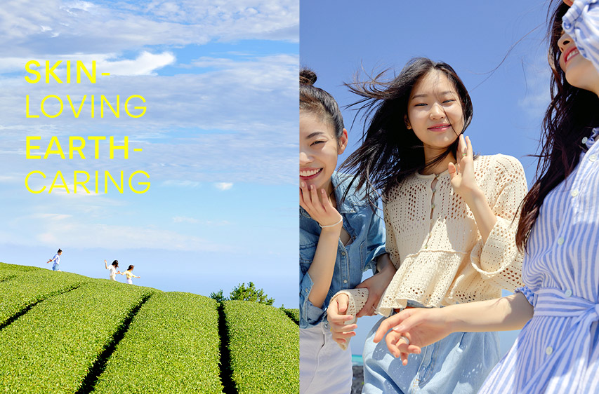 SKIN-LOVING EARTH-CARING