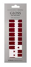이니스프리-글로스 젤네일 스트립-5호 레드빛 와인