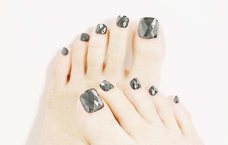 이니스프리-매직프레스 페디큐어-13호 실버 다이아몬드