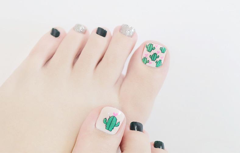 이니스프리-매직프레스 페디큐어-18제주컬러피커 선인장 열매