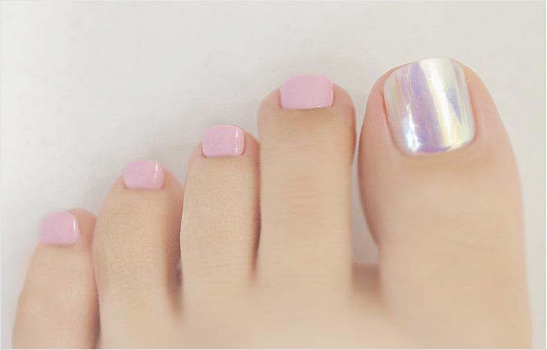 이니스프리-매직프레스 페디큐어-3호 분홍빛 딸기우유
