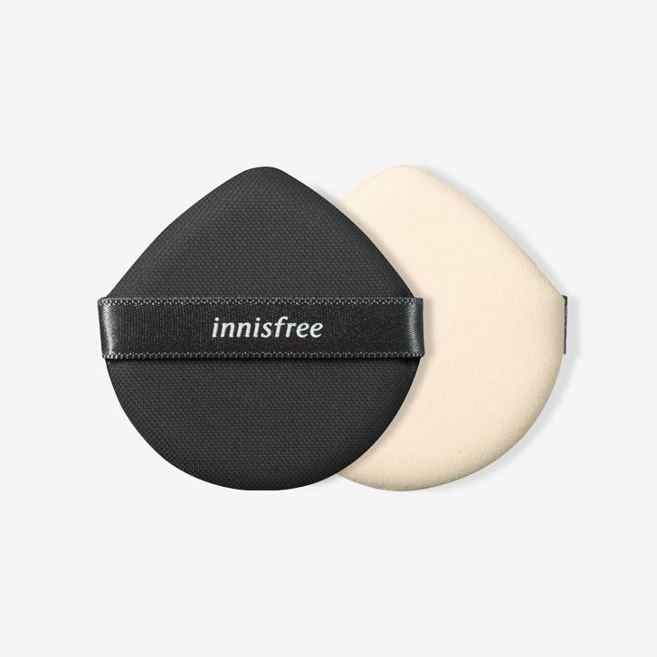 이니스프리-라이트 핏 쿠션 퍼프 [내장겸용]-정교한 메이크업을 도와주며 밀착력을 높여주는 물방울 퍼프