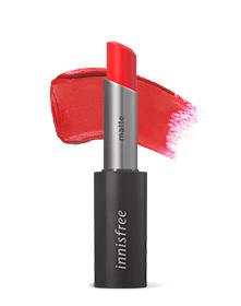 이니스프리-리얼핏 매트 립스틱-#4 스파이시 토마토