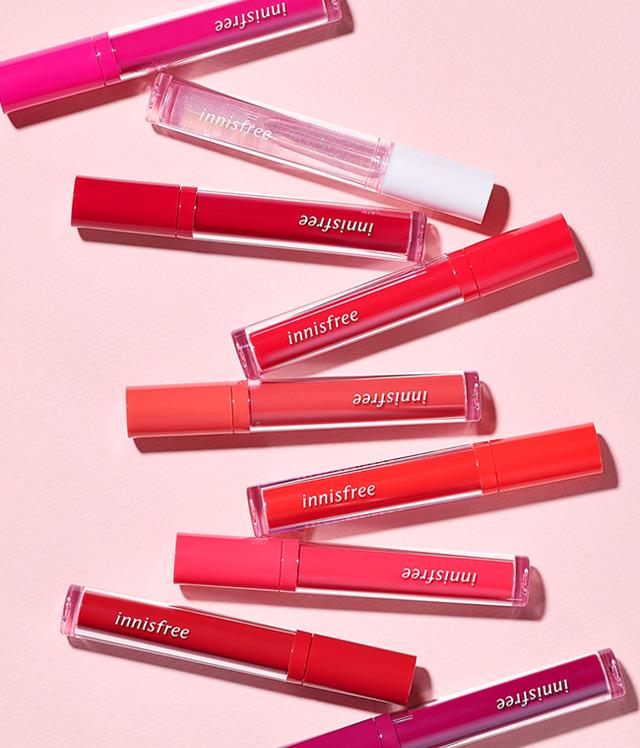 이니스프리-프루티 스퀴즈 틴트-맑고 생생한 컬러 텍스처가 입술에 광택감을 채워주는 수분 듬뿍 물광틴트