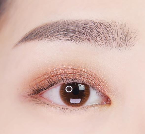 이니스프리-마이 컬러 팔레트-눈 발색컷 비포 선라이즈 8호 스타나이트