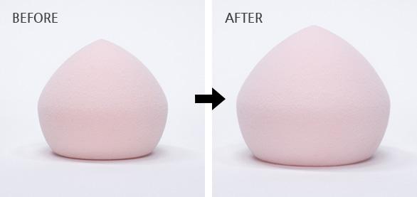 이니스프리-스마트 블렌더 [말랑촉촉/쫀쫀매끈]-그대로 사용하면 무결점 쫀쫀피부, 물에 적셔 사용하면 촉촉 물광피부!