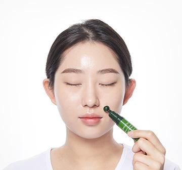 이니스프리-그린티 씨드 아이 앤 페이스 볼-얼굴 라인 (팔자, 이마, 입가 등)