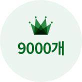 9000개