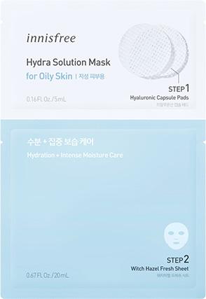 이니스프리 - 하이드라 솔루션 마스크 [지성 피부용]
