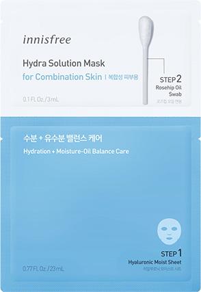 이니스프리 - 하이드라 솔루션 마스크 [복합성 피부용]