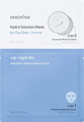 이니스프리 - 하이드라 솔루션 마스크 [건성 피부용]