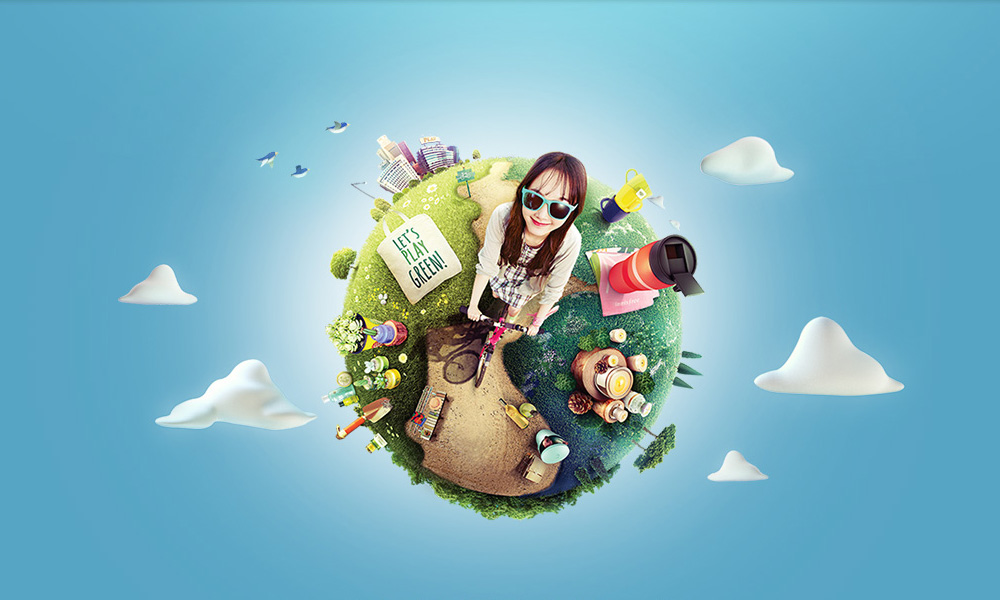 PLAYGREEN CAMPAIGN visual