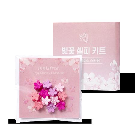 제주 왕벚꽃 셀피 키트