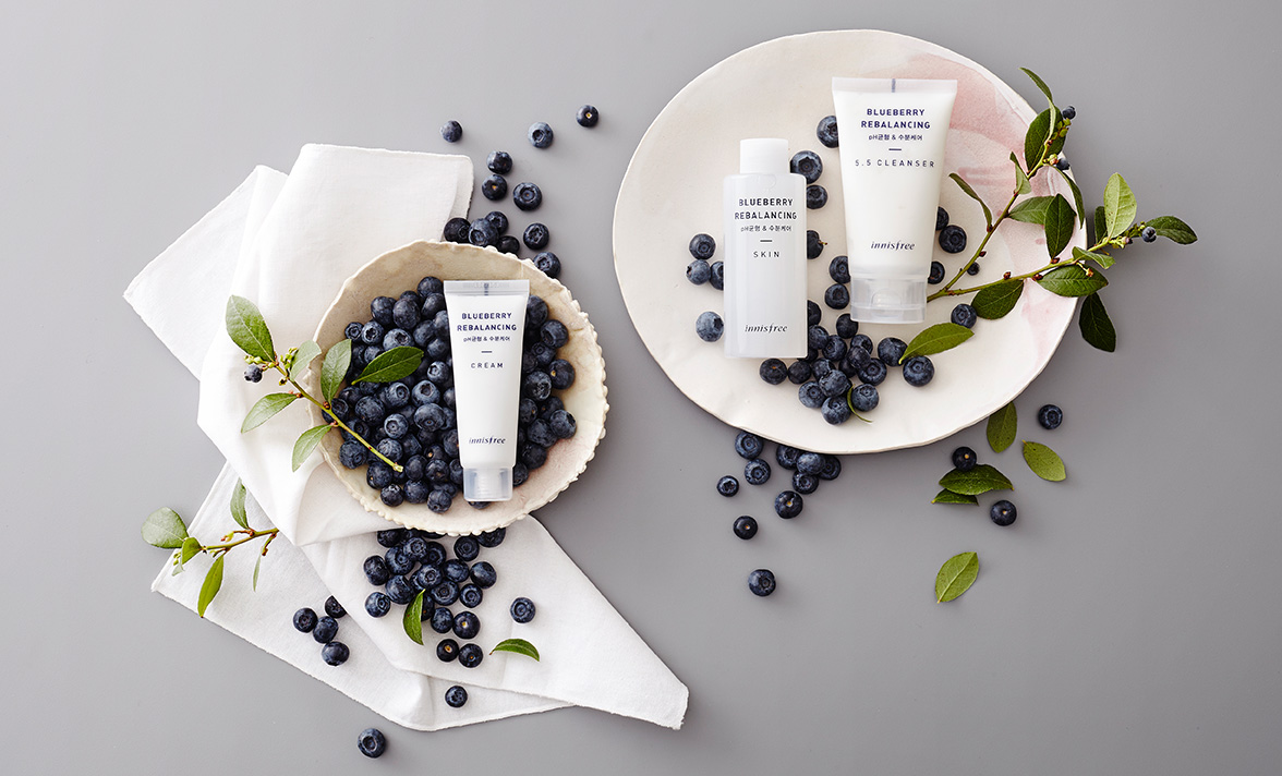 Innisfree - Blueberry Rebalancing Cream