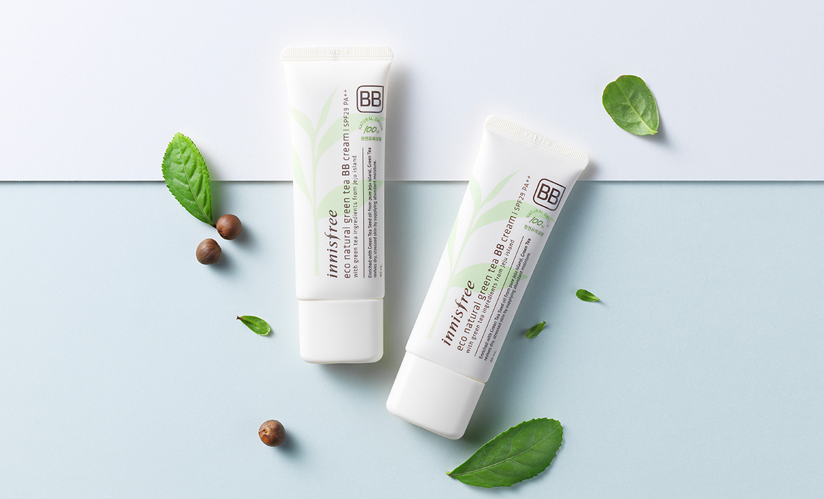 Innisfree - Eco Natural Green Tea BB Cream