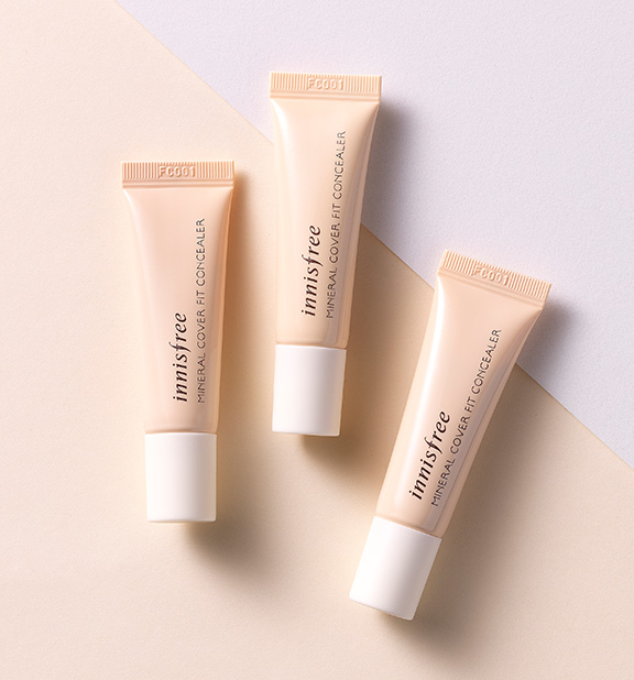 Innisfree - Mineral Cover Fit Concealer