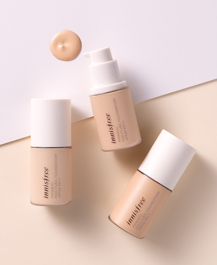 Innisfree - Mineral moisture foundation