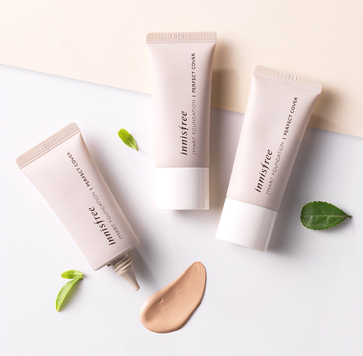 Innisfree - Smart Foundation - Perfect Cover