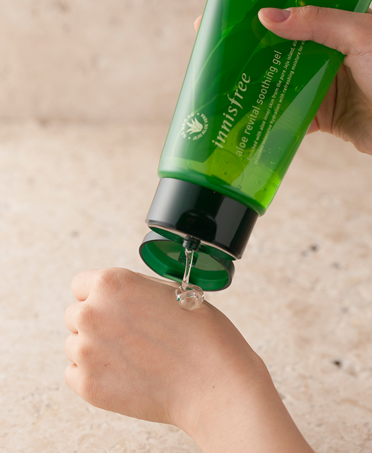 Innisfree - Aloe revital soothing gel