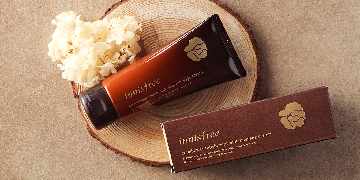 Innisfree - Cauliflower Mushroom Vital Massage Cream