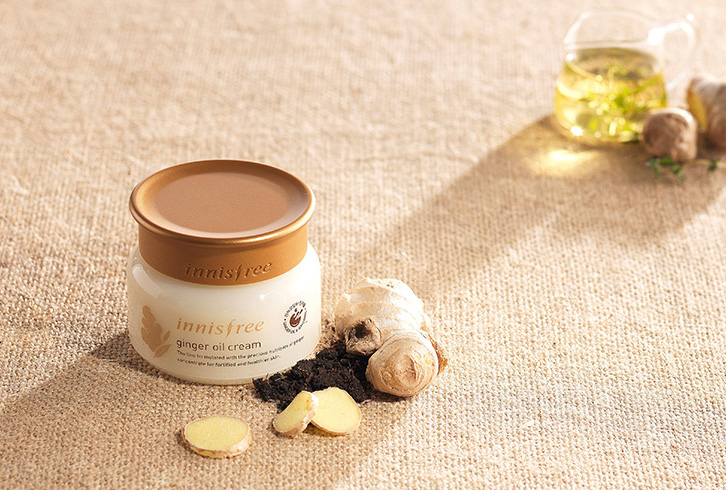 Innisfree - Ginger Oil Cream