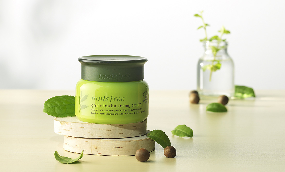 Innisfree - The Green tea balancing cream