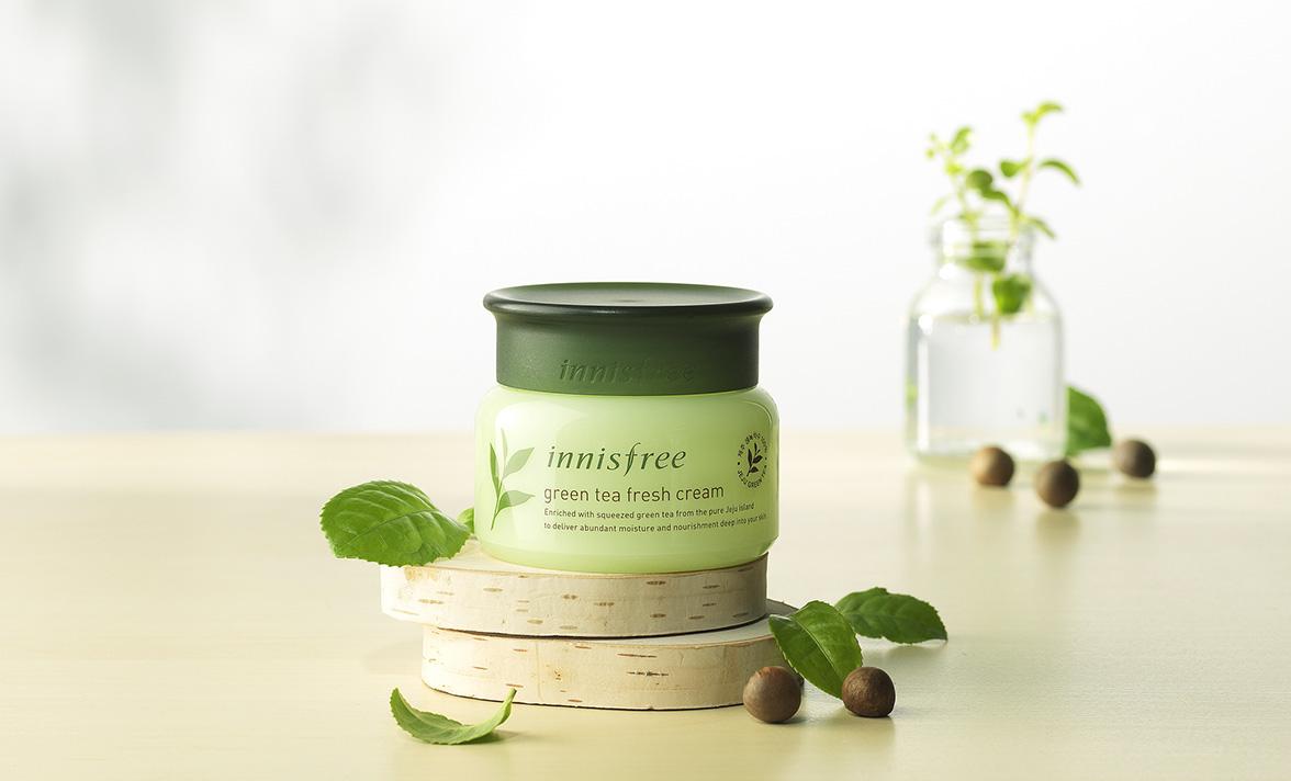 Innisfree - The Green tea fresh cream