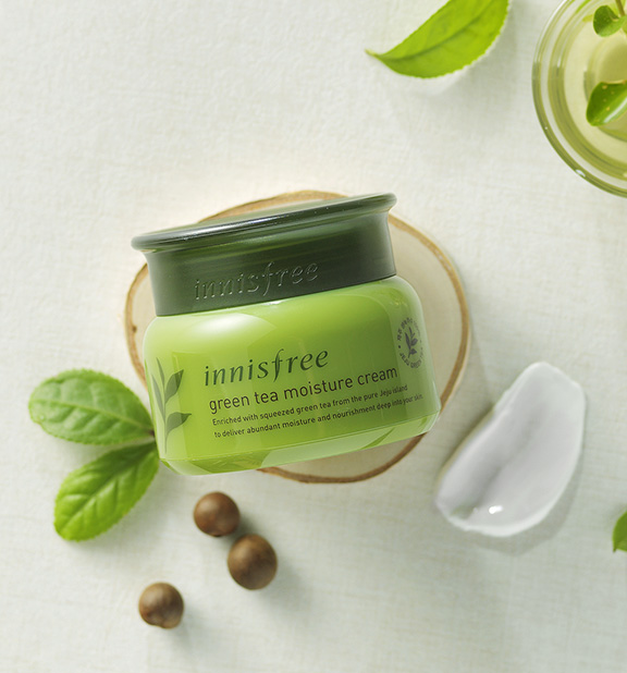 Innisfree - The green tea moisture cream