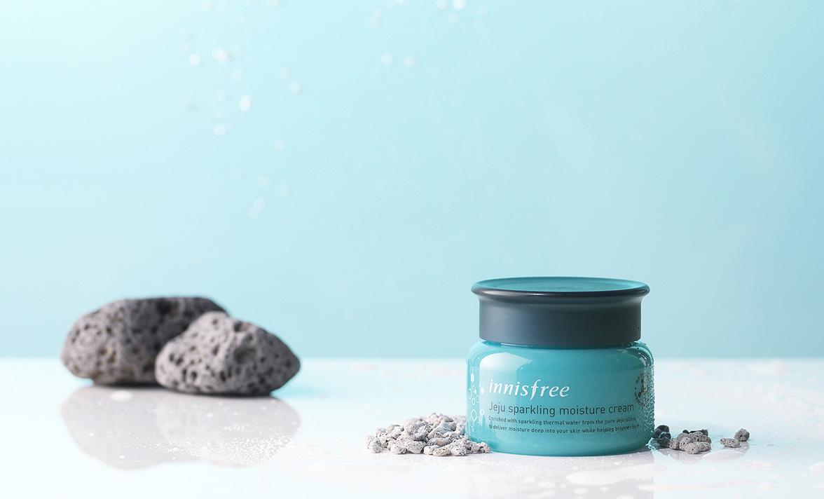 Innisfree - Jeju Sparkling Moisture Cream