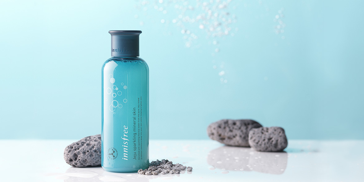 Innisfree - Jeju sparkling mineral skin