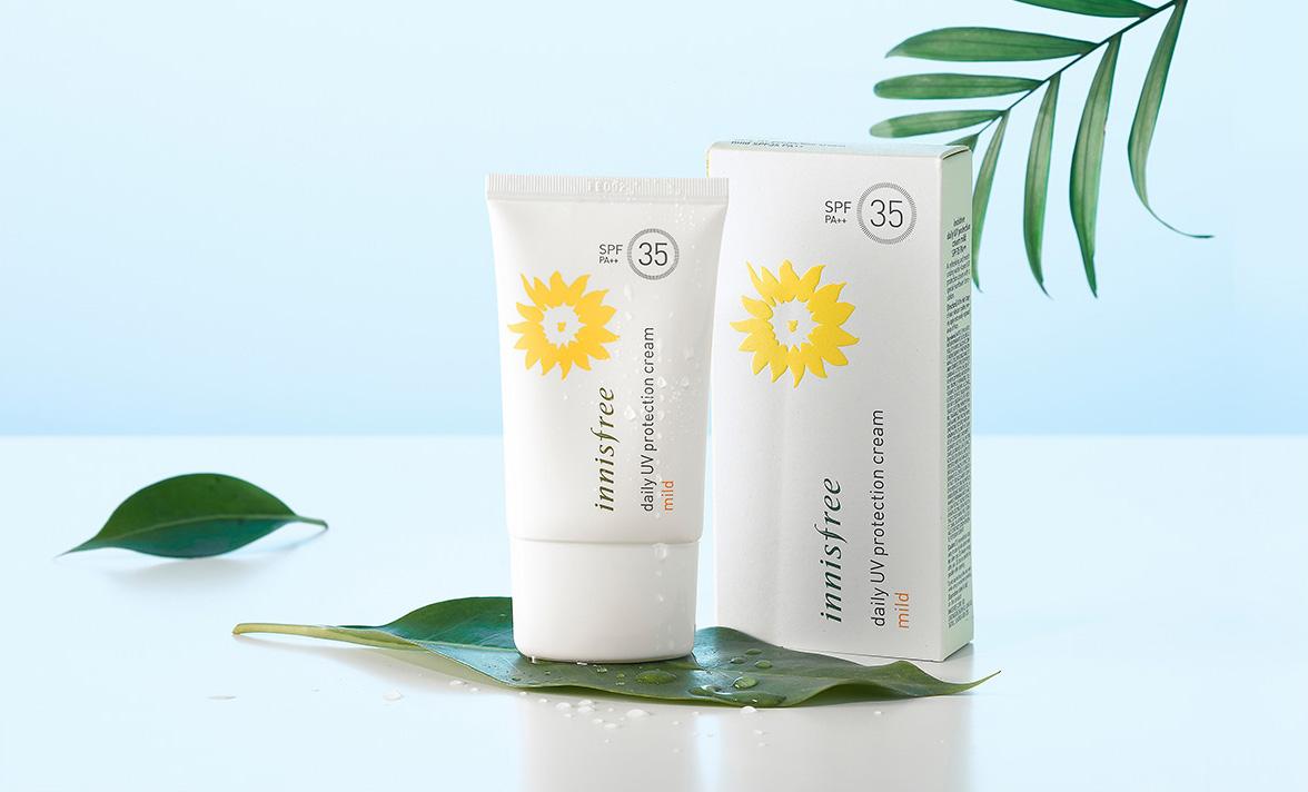 Innisfree - Daily UV Protection Cream Mild SPF35