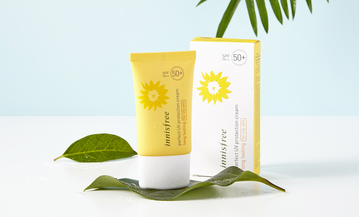 Innisfree - Perfect UV Protection Cream Long Lasting for Oily Skin