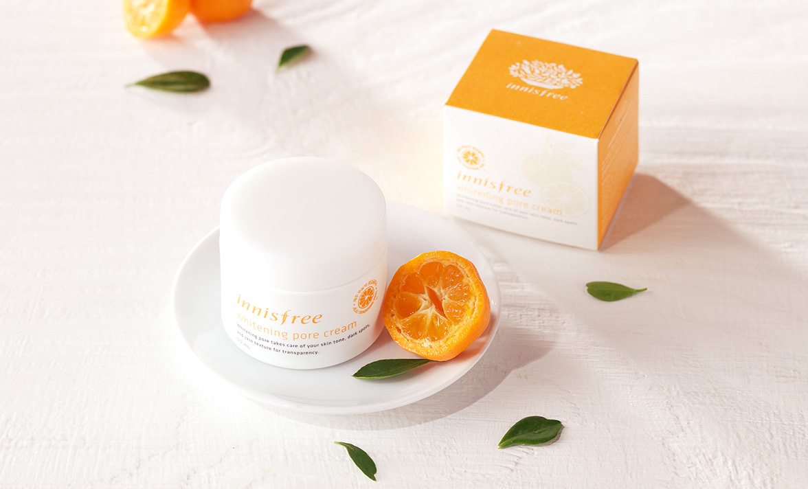 Innisfree - Whitening pore cream