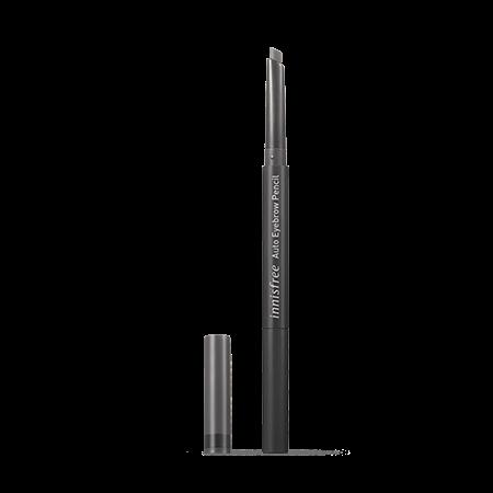 이니스프리 납작 아이브로우 펜슬 0.3g - 아이브로우입문템, 초보자도손쉽게, 부드러운발림성, 자연스러운눈썹, 인생템