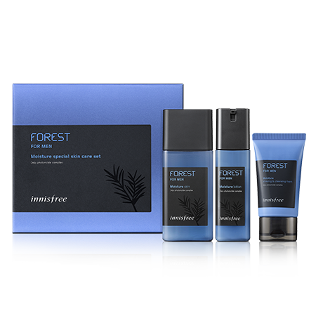 Innisfree Forest for men moisture special skin care set