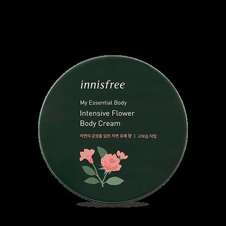 이니스프리 마이 에센셜 바디 인텐시브 플라워 바디 크림 150mL - 프리미엄, 자연향바디, 자연유래성분, 플라워, 바디크림