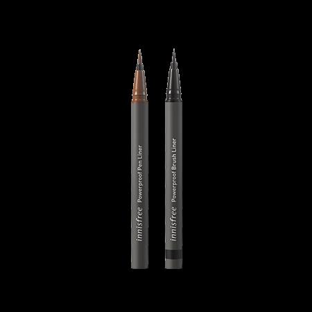 이니스프리 파워프루프 라이너 [브러시/펜] 0.6g - 브러쉬라이너, 파워프루프, 선명한발색, 지속력, 붓펜타입