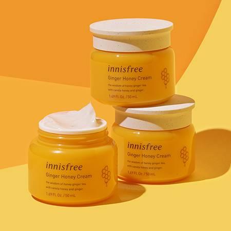 이니스프리 진저허니 크림 50mL - 꿀크림, 꿀보습, 보습, 영양크림, 멜팅크림