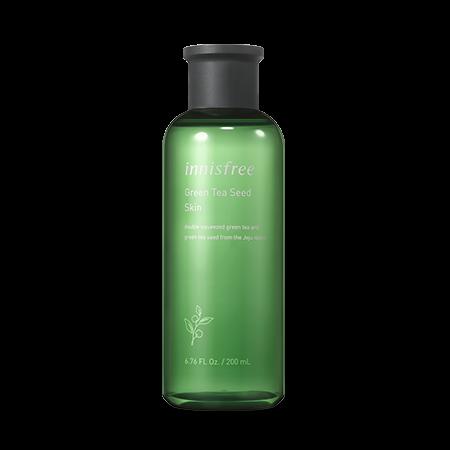 Innisfree Green Tea Seed Skin 200mL-Moisturizing skin, 7 skins, Panthenol skin, Green tea
