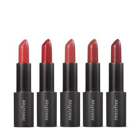 이니스프리 리얼핏 립스틱 3.1 g  - 레드바이브, 리얼핏립스틱, 데일리립스틱, 신예은립스틱, 립스틱