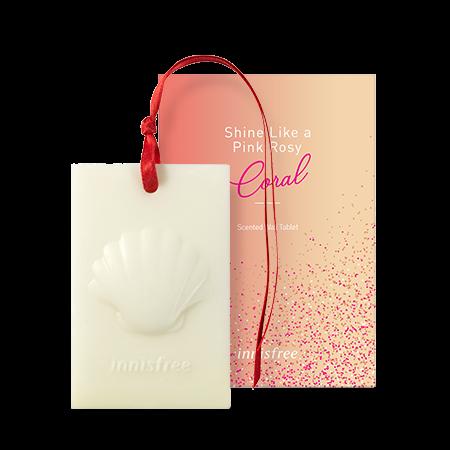 센티드 왁스 타블렛 핑크 로지 코랄