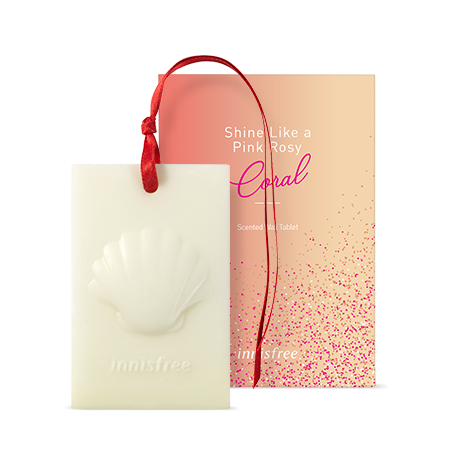 이니스프리 센티드 왁스 타블렛 핑크 로지 코랄 65g - 왁스타블렛, 인테리어