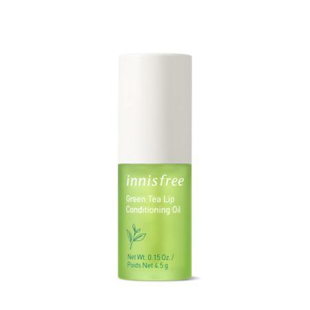 이니스프리 그린티 립 컨디셔닝 오일 4.5g - 그린티립케어, 립오일, 그린티립오일, 환절기SOS템