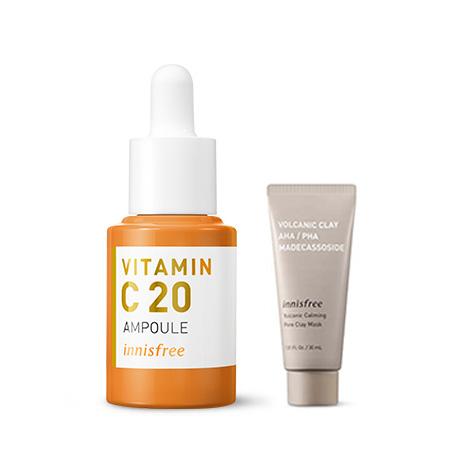 이니스프리 트루케어 비타민C 20 앰플 15mL - 잡티앰플, 효과앰플, 비타민앰플, 7일잡티개선, 안티에이징앰플, 공병수거