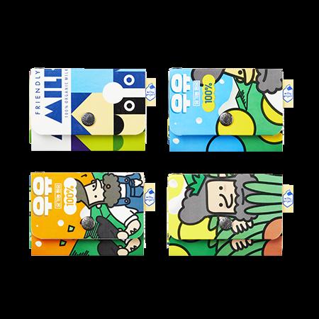 이니스프리 밀키프로젝트 - 밀키파우치 - 밀키프로젝트, 진짜우유팩, 일상에코, 100%핸드메이드