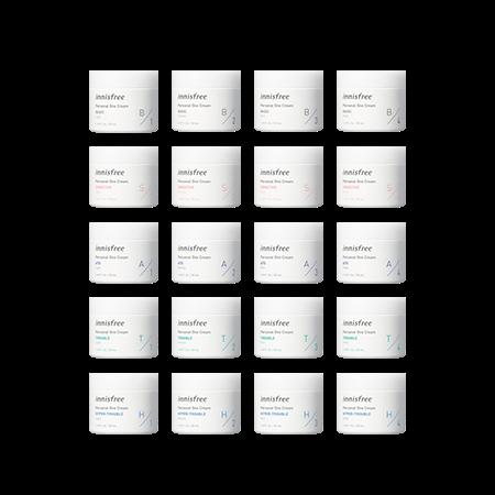 이니스프리 퍼스널 원크림 50mL - 퍼스널원크림, 빅데이터, 20가지스킨케어솔루션, 원크림, 믿쓰템믿쓰원, 공병수거