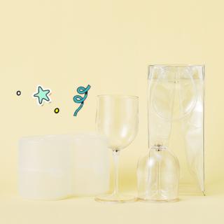와인잔 & 칠링백 세트