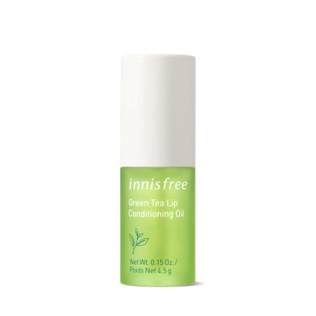 이니스프리 그린티 립 컨디셔닝 오일 4.5g - 그린티립케어, 자연유래립케어, 립오일, 그린티립오일, 환절기SOS템