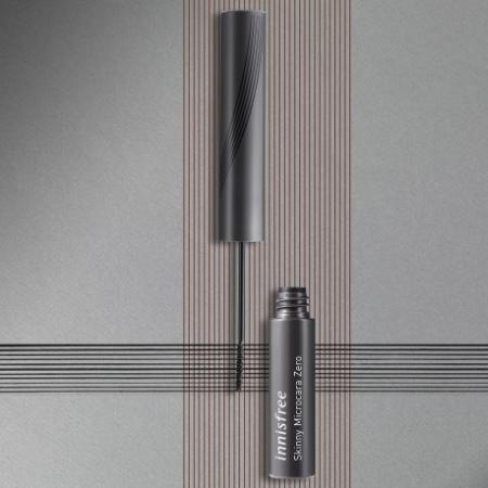 이니스프리 스키니 꼼꼼카라 Zero [워터프루프] (블랙) 3.5g - 번짐제로, 처짐제로, 뭉침제로, 워터프루프, 깔끔래쉬