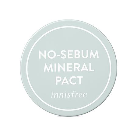 이니스프리 노세범 미네랄 팩트 8.5g - 기름종이팩트, 개기름, 지성피부, 파우더팩트, 노세범, 노세범팩트